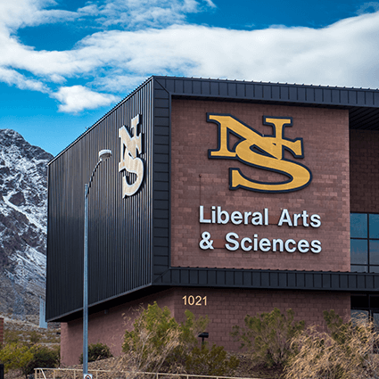 LAS, Liberal Arts and Sciences Building, Outside, Campus Buildings, Nevada State College, Building