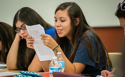 Classroom, LAS Building, Nepantla, Nevada State College, Student Life, Students