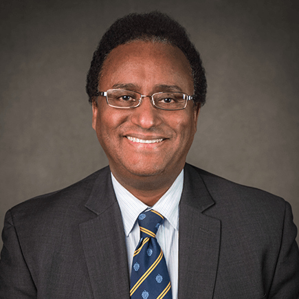 Headshot of NSC Professor, Dr. Kebret Kebede