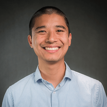 Headshot of NSC Math Professor, Dr. Aaron Wong