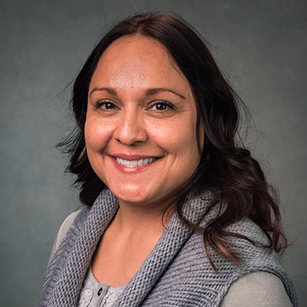 Headshot of NSC Professor, Heidi Batiste