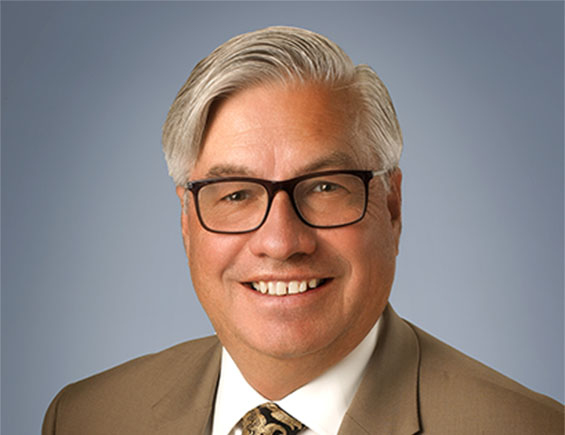 Headshot of Bart Patterson, President of Nevada State College