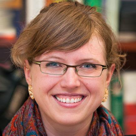 Head shot of Assistant Professor of English, Molly Appel