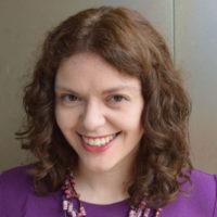 Head shot Assistant Director of the Writing Center Rachel Herzl-Betz