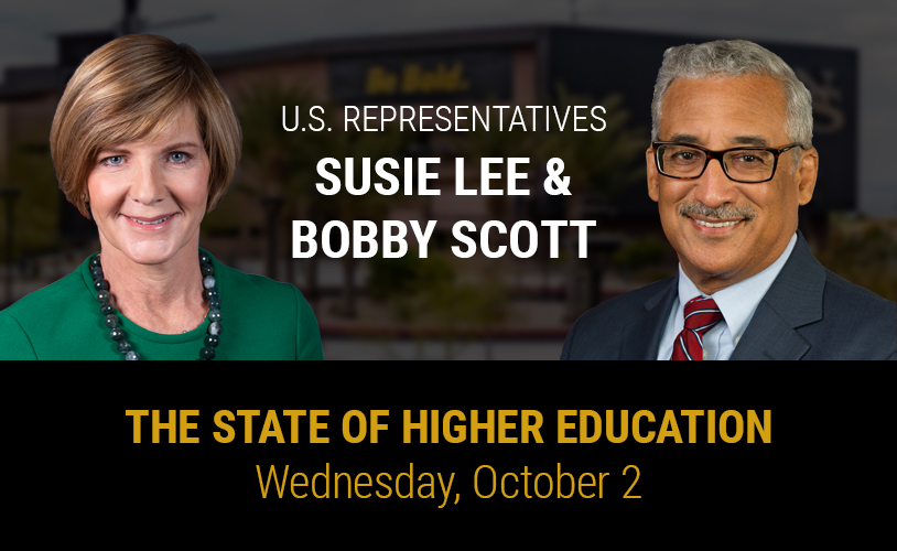 State of Higher Education event Flyer