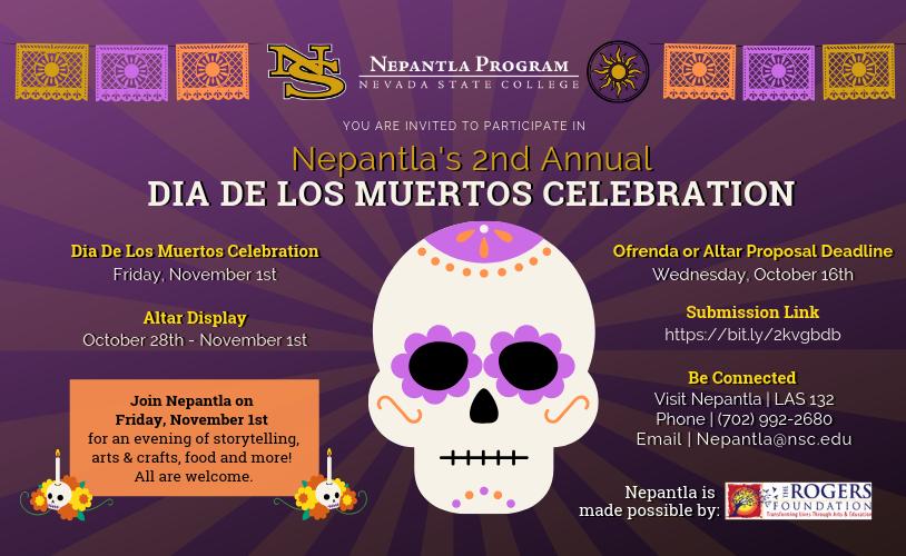 Nepantla Program Dia De Los Muertos Celebration