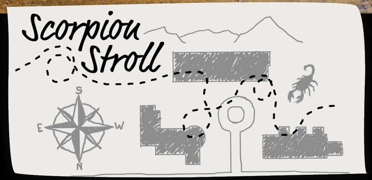 scorpion stroll map