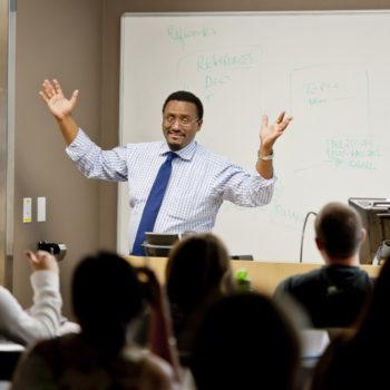 Dr. Kebede Teaching