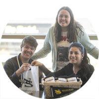 Three NSC Students